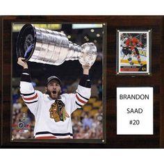 C Collectables NHL 12x15 Brandon Saad Chicago Blackhawks Player Plaque