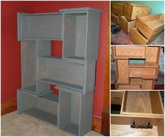 DIY Upcycle Old Drawers
