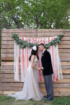 A photo booth is a must for every wedding to get unforgettable pictures of you and your guests and have fun. Order or make a backdrop that continues...