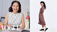 """""""At the time I thought, there is nothing groovier than this look,"""" Julia Louis-Dreyfus laughs. Julia Louis-Dreyfus takes a look through her fashion history, . Fashion History, Fashion News, Julia Louis Dreyfus, Seinfeld, Red Carpet Fashion, Celebrity Style, Dressing, Short Sleeve Dresses"""