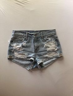 3c5aac7b95 Extra Off Coupon So Cheap Abercrombie High Waist Jean Shorts Size 2