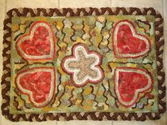 This blog gives easy and wonderful instructions for putting a braided edge on a rug.  Super!