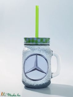 Mercedes dísz- és használati bögre, szívószálas üveg és korsó 3 az 1-ben autó rajongói ajándék. (Biborvarazs) - Meska.hu Subaru, Decoupage, Mason Jars, Mugs, Tableware, Diy, Dinnerware, Bricolage, Tumblers