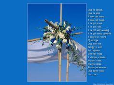 Love is Patient - Wedding Cross