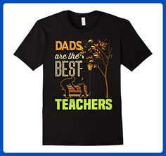 Mens Dads Are The Best Teachers Fathers Teaching Back To School Small Black - Careers professions shirts (*Amazon Partner-Link)