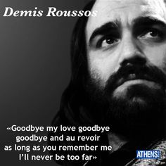 O Demis Roussos πέθανε στις 26 Ιανουαρίου 2014.