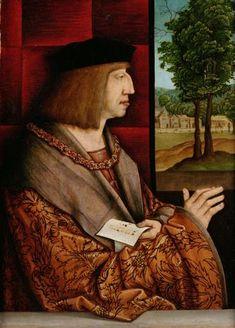 Emperor Maximilian I (1459-1519) - Bernhard Strigel