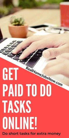 If you've been looking for an easy, flexible way to make money online from home, this is it! Short task sites, also known as micro jobs or task jobs, are great way to earn extra money especially if you have…Read More→ Earn Extra Money Online, Earn More Money, Make Money Fast, Work From Home Companies, Work From Home Jobs, Cash From Home, Make Money From Home, Get Gift Cards, Money Machine
