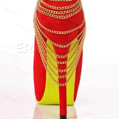 Gorgeous PU inner Stiletto Heels fish mouth Sandals for Women.