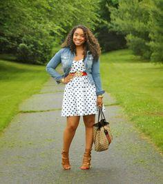 Style & Poise-Polka Dot Dress(Lulu's)