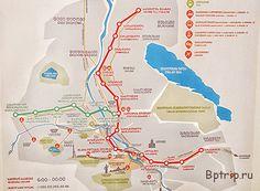 Метро Тбилиси: схема и стоимость проезда