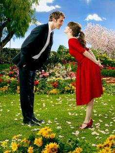 Pushing Daisies, oh so very sweet, what a beautiful work of art. The word adorable was invented just for this tv series, why was it axed again ????