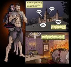 A scene from issue 5 of Mythica. A tale of demon hunting in WW1