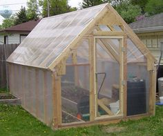 14 x 8 Greenhouse Plans DIY