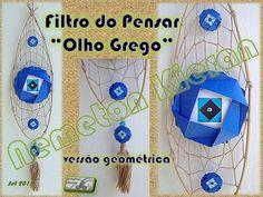 Versão origamistica do famoso símbolo Grego de proteção. Origami, Crafts, Verses, Manualidades, Origami Paper, Handmade Crafts, Craft, Arts And Crafts, Artesanato