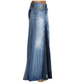 True Religion Dakota Long Skirt Love & Haight in Arlington