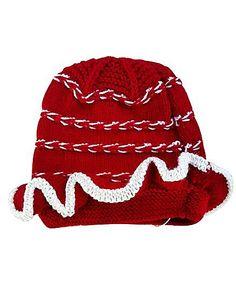 MayRa Knits Cap - Red