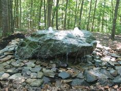 Landscaping Pictures & Ideas: Rock Fountain
