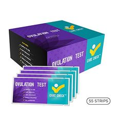 Care Check Ovulation Test 55 Urine Ovulation Test Strips ** Want to know more, click on the image. (Note:Amazon affiliate link)
