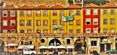 by Prendas Joaquim Portugal, Photo Wall, Frame, Home Decor, Porto, Gifs, Lugares, Fotografie, Room Decor