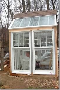 building a greenhouse out of old windows - Greenhouses & Garden Structures Forum - GardenWeb