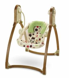 This swing was a life saver in the early days