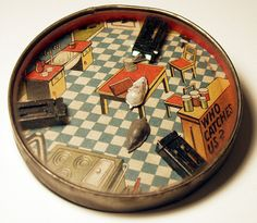 Antique Dexterity Games and Hand-Held Puzzles from the Collection of Barbara Levine - project b