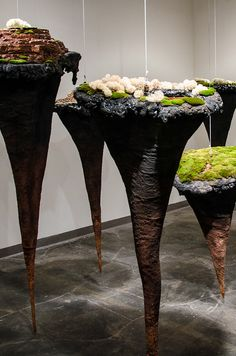 Christopher David White - Journey Through An Unknown Landscape, mixed media