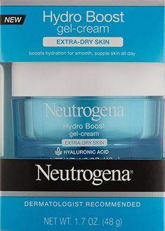 17e08fff00c Amazon.com: Neutrogena Hydro Boost Hyaluronic Acid Hydrating Face  Moisturizer Gel-Cream to