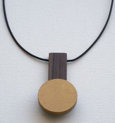 Oakland, California-based Jason Lees Design makes some really cool furniture and accessories, but his new jewelry collection featuring the same materials of wood, brass, leather, and paint are minimal statements of perfection.