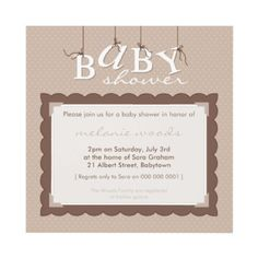 baby shower invite..in green and blue?