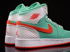 A brand new colorway of the Air Jordan 1 Retro High is available strictly for girls. Jordan Brand's current obsession with that vibrant green known as Verde when paired with Infrared has also extended itself toward the Air Jordan 7 … Continue reading →