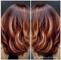 #Balayage by #stylistricardosantiago #hair #orlando Follow my Instagram at www.instagram.com/stylistricardosantiago   Or my Facebook at www.facebook.com/stylistricardosantiago
