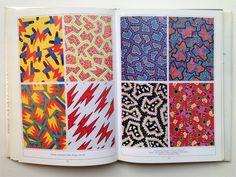 Nathalie du Pasquier fabric designs 1981-82