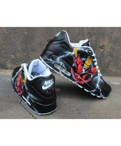 b7dd7be836 Deals Nike Air Max 90 Candy Drip Rainbow Black Trainer & Shoes from UK  online store, any order of your selected will enjoy great discount!