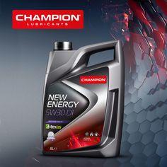 Champion lubricants, New energy Made in Belgium Label Design, Flyer Design, Layout Design, Packaging Design, Web Design, Car Advertising, Advertising Design, Plastic Bottle Design, Diesel Oil