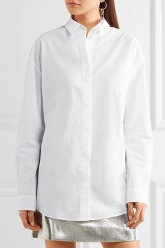 Acne Studios - Bela Cotton-poplin Shirt - White