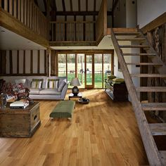 Neroli Oak Hardwood Floors – Unlike other wood floors, True Hardwood Flooring the color goes throughout the surface layer without using stains or dyes
