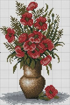This Pin was discovered by ayş Cross Stitch Numbers, Cross Stitch Bird, Cross Stitch Flowers, Cross Stitching, Modern Cross Stitch Patterns, Counted Cross Stitch Patterns, Cross Stitch Designs, Cross Stitch Embroidery, Free Cross Stitch Charts