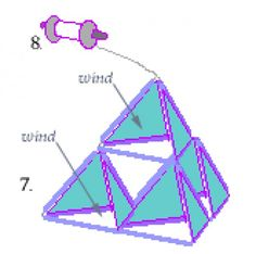 """How to Build a Pyramid Kite"" is a tutorial I first posted on the web in 1993. Suitable for ages 7 and up with adult supervision, this is a simple kite design I learned as a kid."