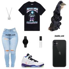 Baddie Outfits Casual, Swag Outfits For Girls, Teenage Girl Outfits, Cute Swag Outfits, Cute Comfy Outfits, Girls Fashion Clothes, Teenager Outfits, Teen Fashion Outfits, Dope Outfits