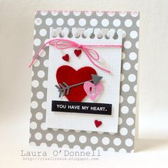 Card: you have my heart