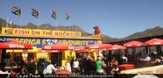 Pop in for a taste of old-world tradition at Fish on the Rocks Africa's favourite. I Cape Town Stuff To Do, Things To Do, Cape Town, The Rock, Old World, Africa, Fish, Rocks, Chips