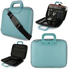 SumacLife Cady Apple MacBook Air 11.6-inch Laptop Briefcase Bag (Blue) * Check this awesome image  : Christmas Luggage and Travel Gear