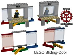 LEGO Sliding Door v:1.0 by Steam-HeART