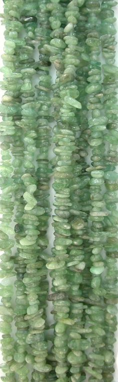 Green Kyanite 6-9mm Chip Nuggets