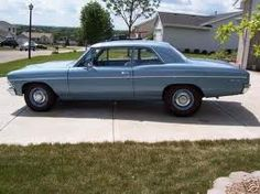 1967 Chevelle 300. High School Car.