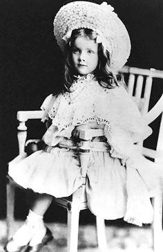 Marlene Dietrich at age 5.