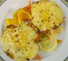 Vieiras rellenas de frutos del mar para #Mycook http://www.mycook.es/receta/vieiras-rellenas-de-frutos-del-mar/