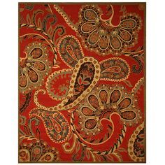 This elegant rug features an oriental pattern and wool construction. This rug has a 0.5 inch pile and transitional style.